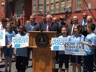 Press Conference to Support City of Yonkers Schools
