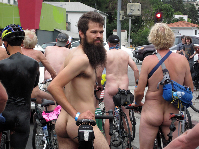LA World Naked Bike Ride (6889)
