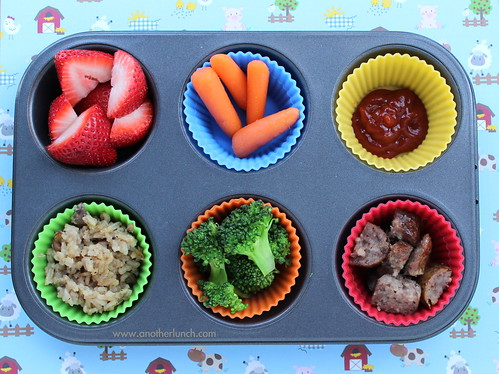 Muffin Tin Monday - farm day