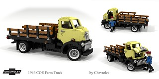Chevrolet 1946 COE Farm Truck