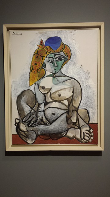 Nude in a Turkish Hat - Picasso