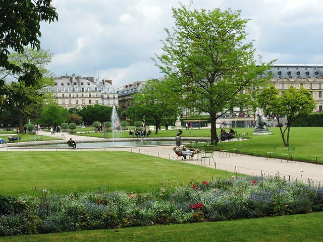Tuileries Garden, Paris, France