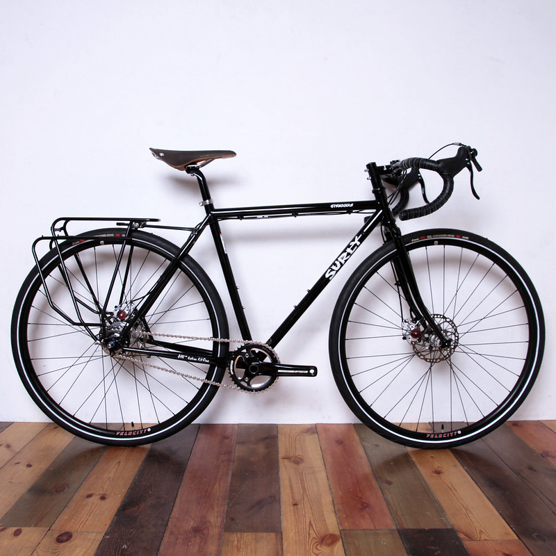 SURLY / STRAGGLER / Alfine 8Speed with Gevenalle Shifter