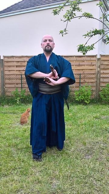 Costume samourai Saotome