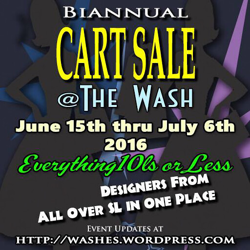 Bi Annual Wash Sale June15th
