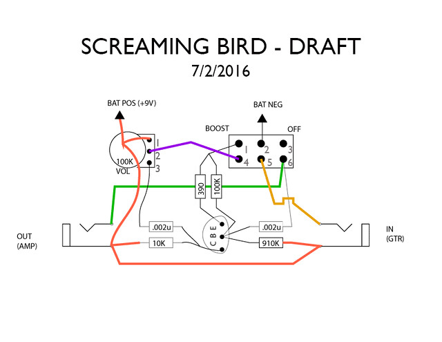 solved  my eh screaming bird wiring problem