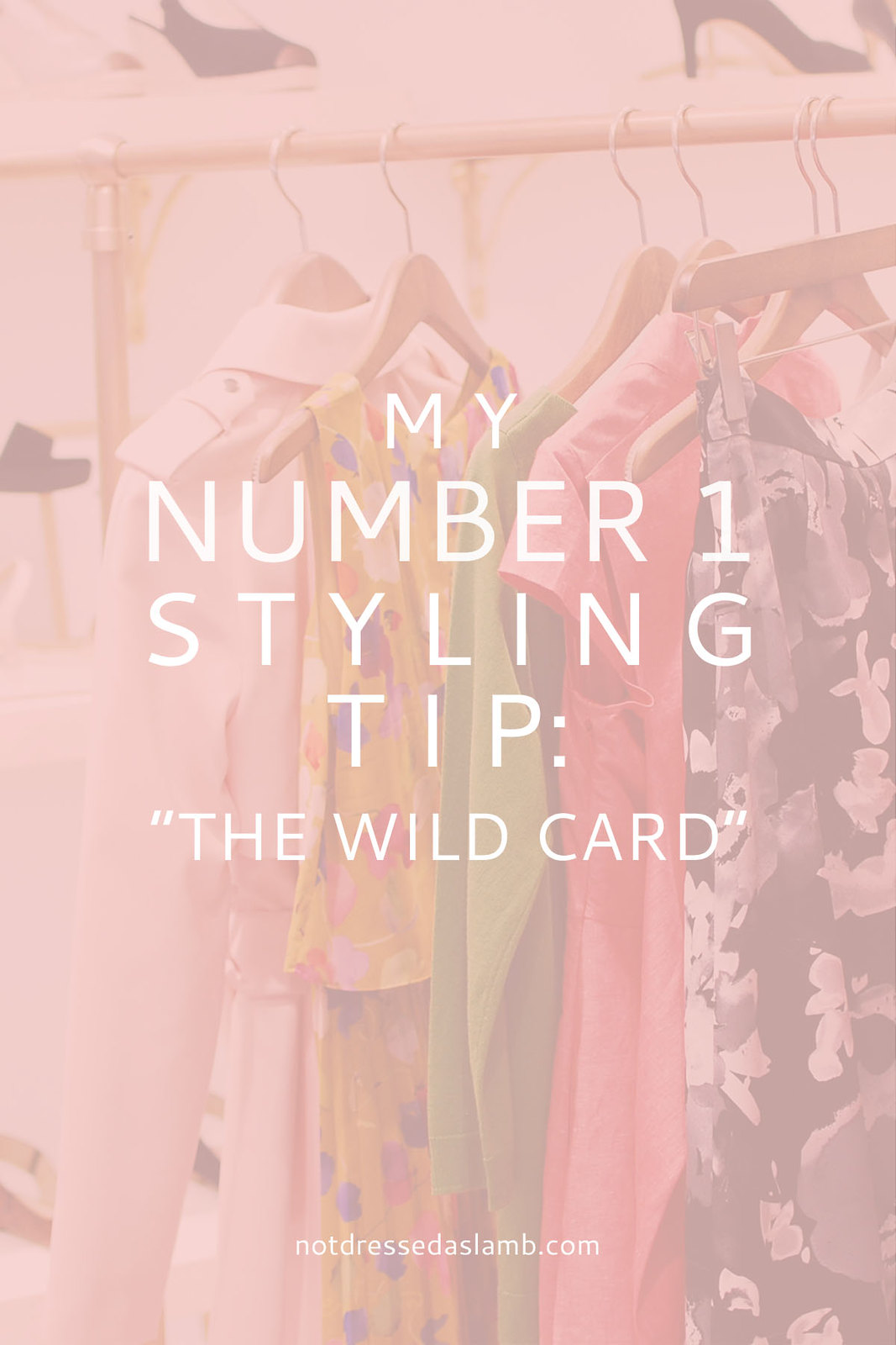 "My Number 1 Styling Tip: ""The Wild Card"" - Not Dressed As Lamb 