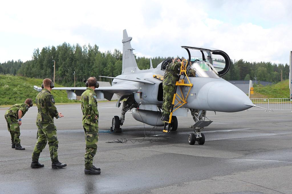 Tour de Sky 2016 Kuopio, Saab JAS39C Gripen -taistelukone