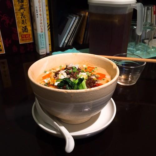 赤坂 うずまき 別館 担々麺 ランチ 2016.6.14