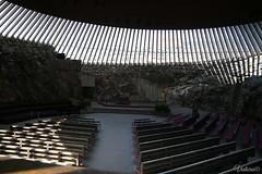 Temppeliaukion kirkko. Helsinki. Finland