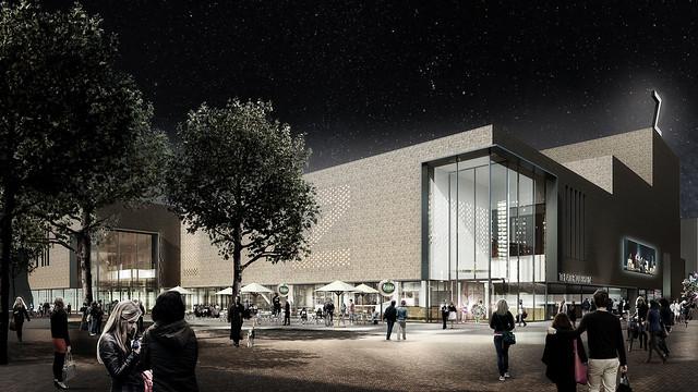 Kunstenpand theater Zuidplein Zwarte Hond 1
