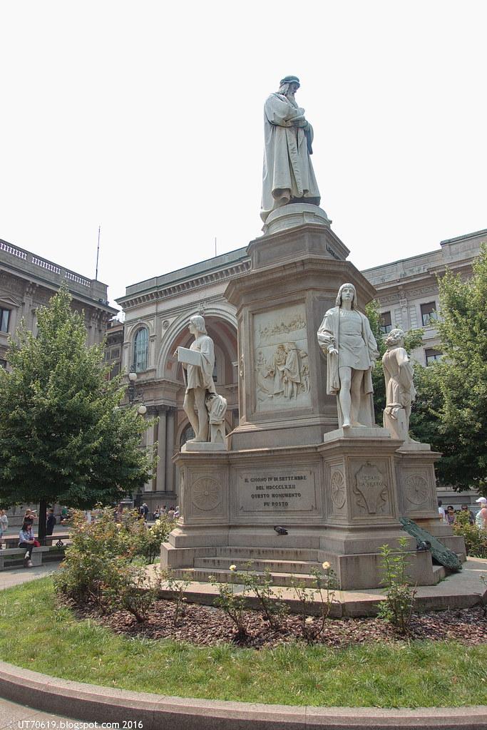 Denkmal Leonardo da Vinci