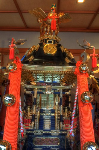 'Mikoshi' at Hokumon Shrine, Wakkanai on JUL 04, 2016 (8)