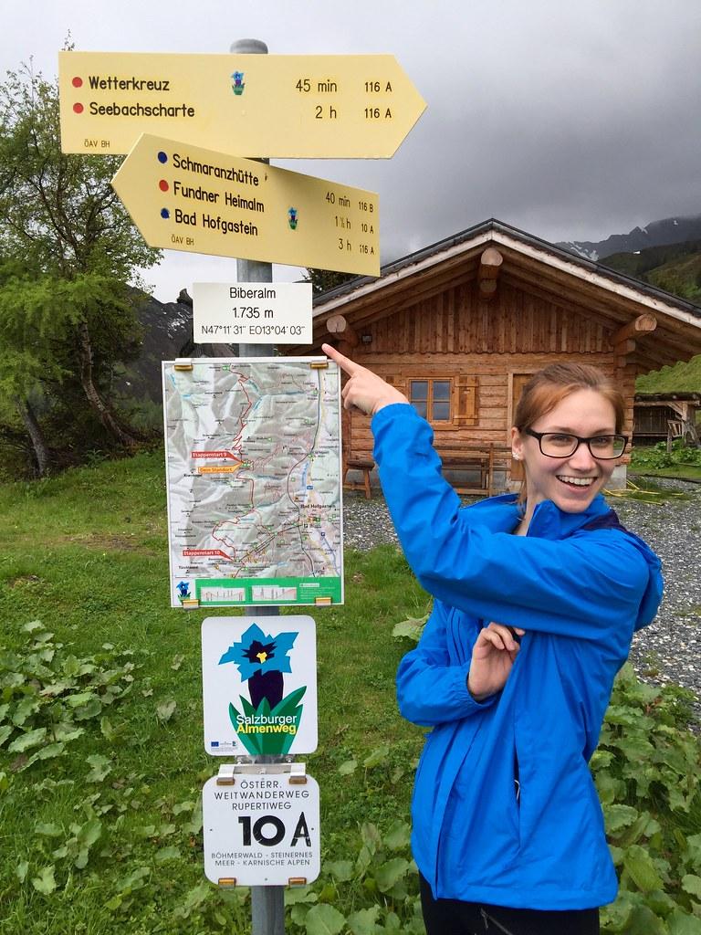 On the Salzburger Almenweg