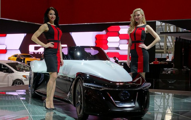 Nissan BladeGlider Concept at 2015 CIAS