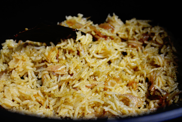 Mint Pulao / Mint Rice Recipe - Step10