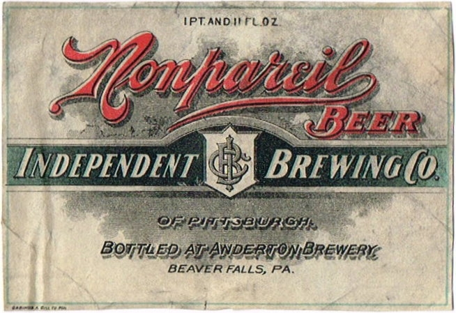 Nonpareil-Beer-Labels-Independent-Brewing-Co-of-Pittsburgh-Anderton-Brewery