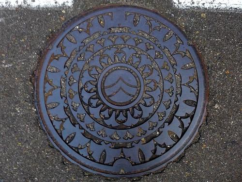 Nō Nigata, manhole cover (新潟県能生町のマンホール)