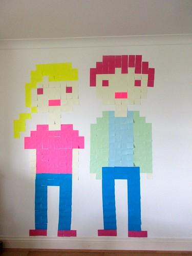 Post-It Self-Portrait Project