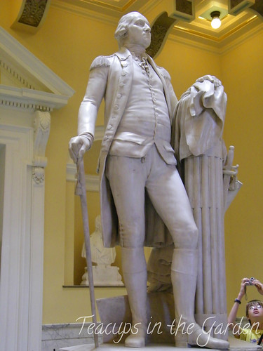 Washington Houdon in capitol in Richmond