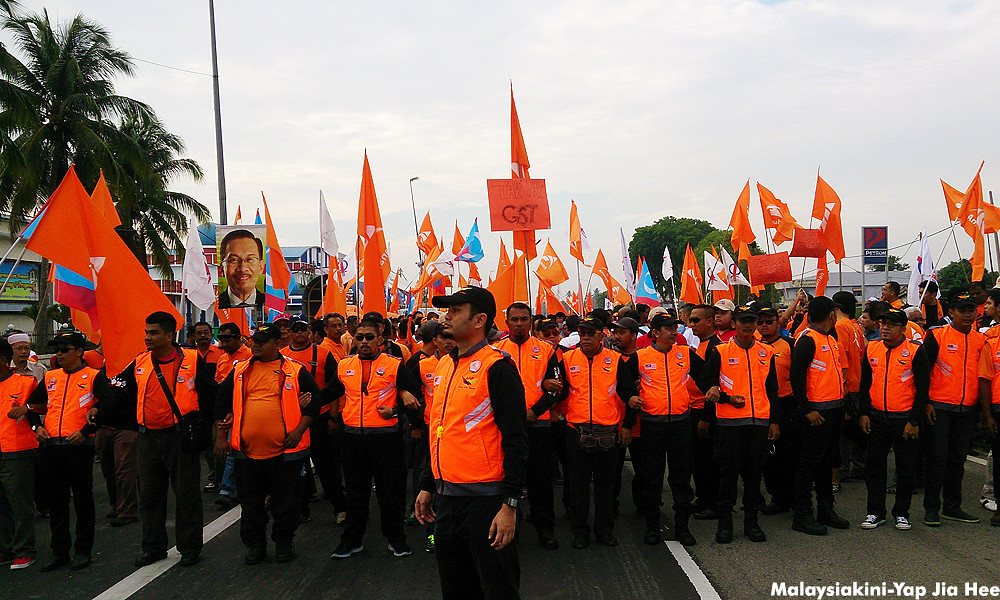 Kuala Kangsar By-Election Polling Day