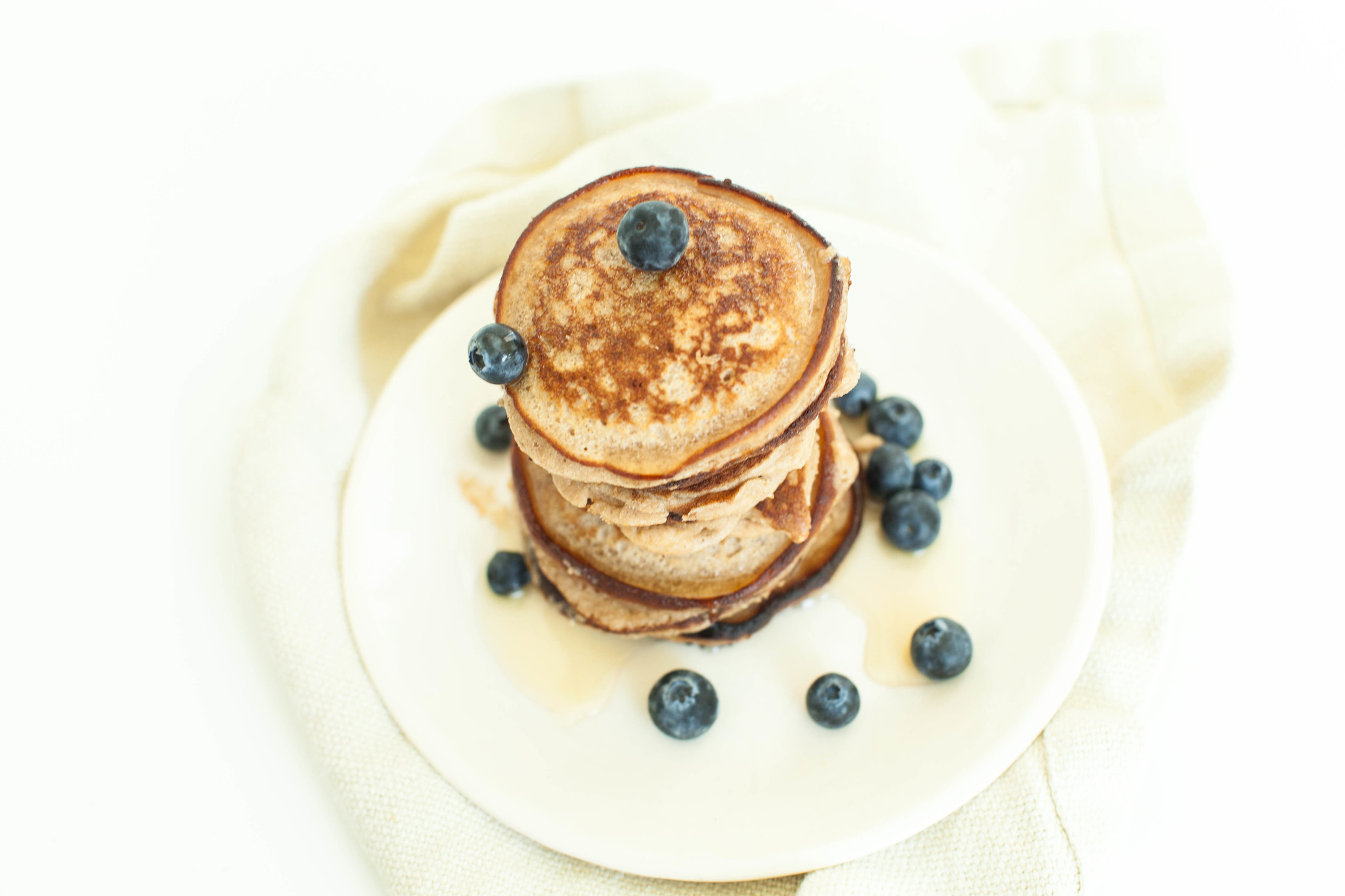 mini cinnamon pancakes