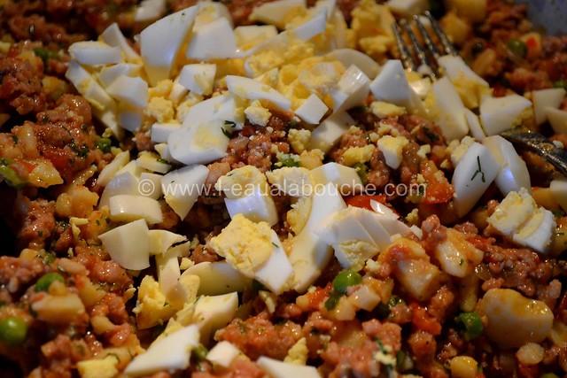 Samoussas à la Viande & aux Légumes © Ana Luthi Tous droits réservés 07