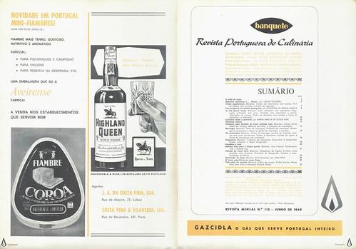 Banquete, Nº 112, Junho 1969 - 2