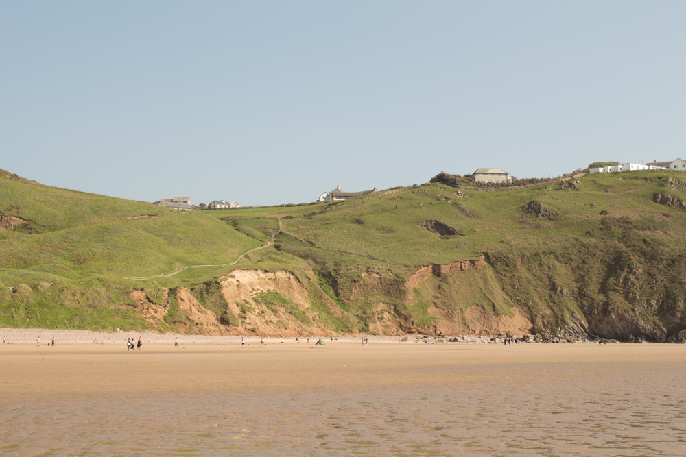 Rhossili Bay beach 1