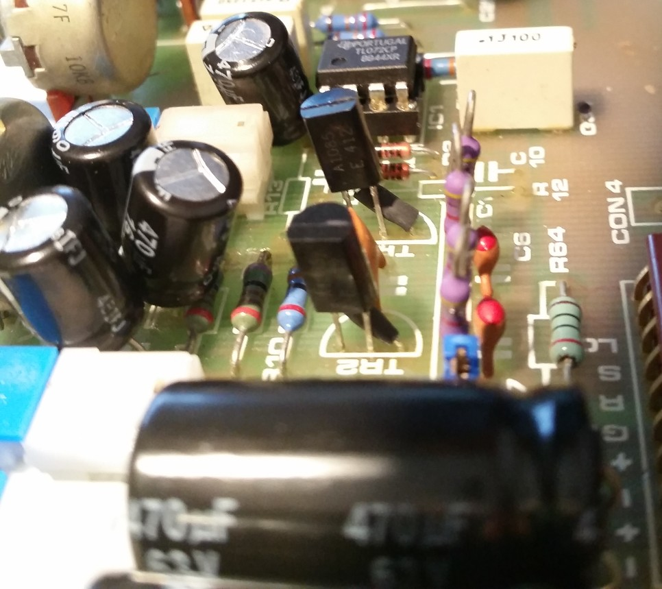 Soundcraft 500 600 Measurement And Improve Circuit Diagram Of Preamp Using Tl072 Like You Can See On The Picture I Add Local Psu Decoupling 01uf Ceramic Capacitor To Try Different Aop Tried A Opa2134 Instead In Amp