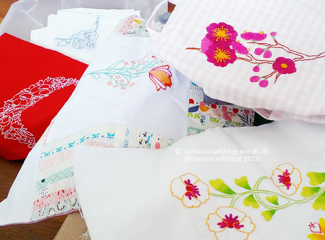 Romantic Motifs  stitcheries