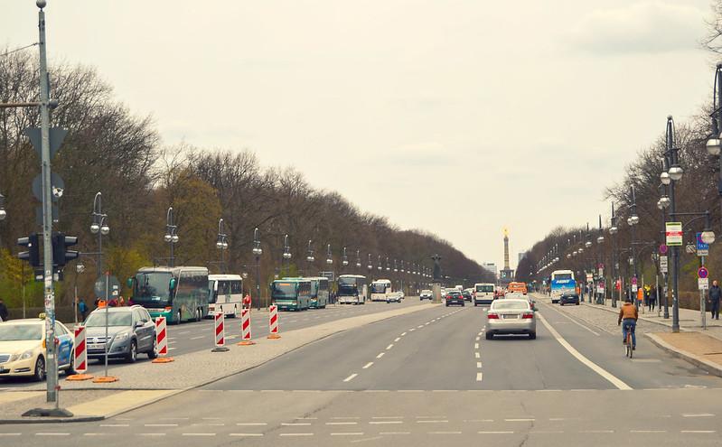 hacia la Columna de la Victoria Berlin 2016