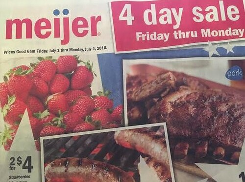 Meijer Four Day Sale