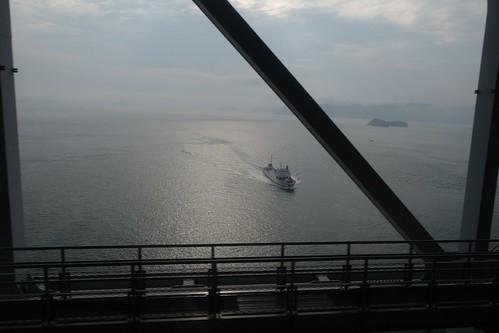 海を渡る鉄道