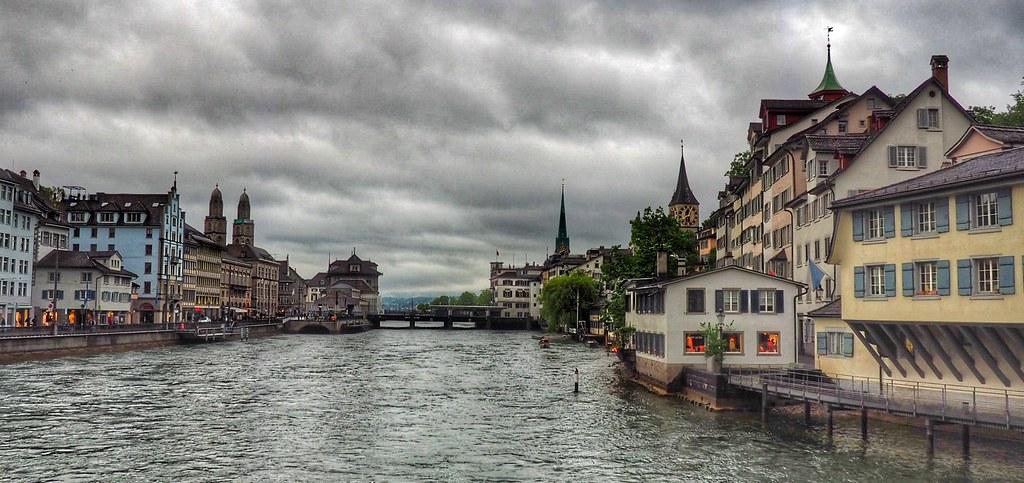 Rainy Zurich