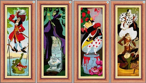 Haunted Mansion Villains