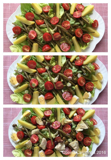2016 04 Salade Nicoise Making 2