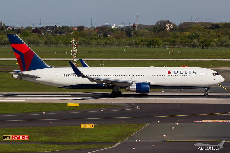Delta Air Lines - B763 - N176DN (1)
