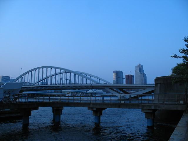 Evening in Tokyo Bay, Sumida River