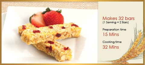 Whole Grain Fruit Bars