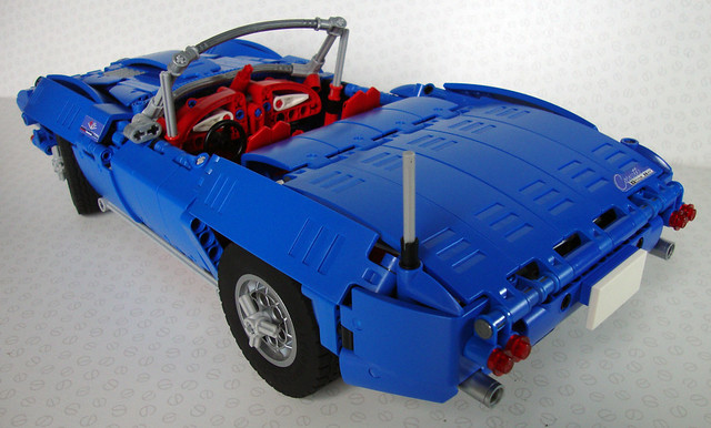 Moc 1963 Corvette C2 Stingray Lego Technic Mindstorms