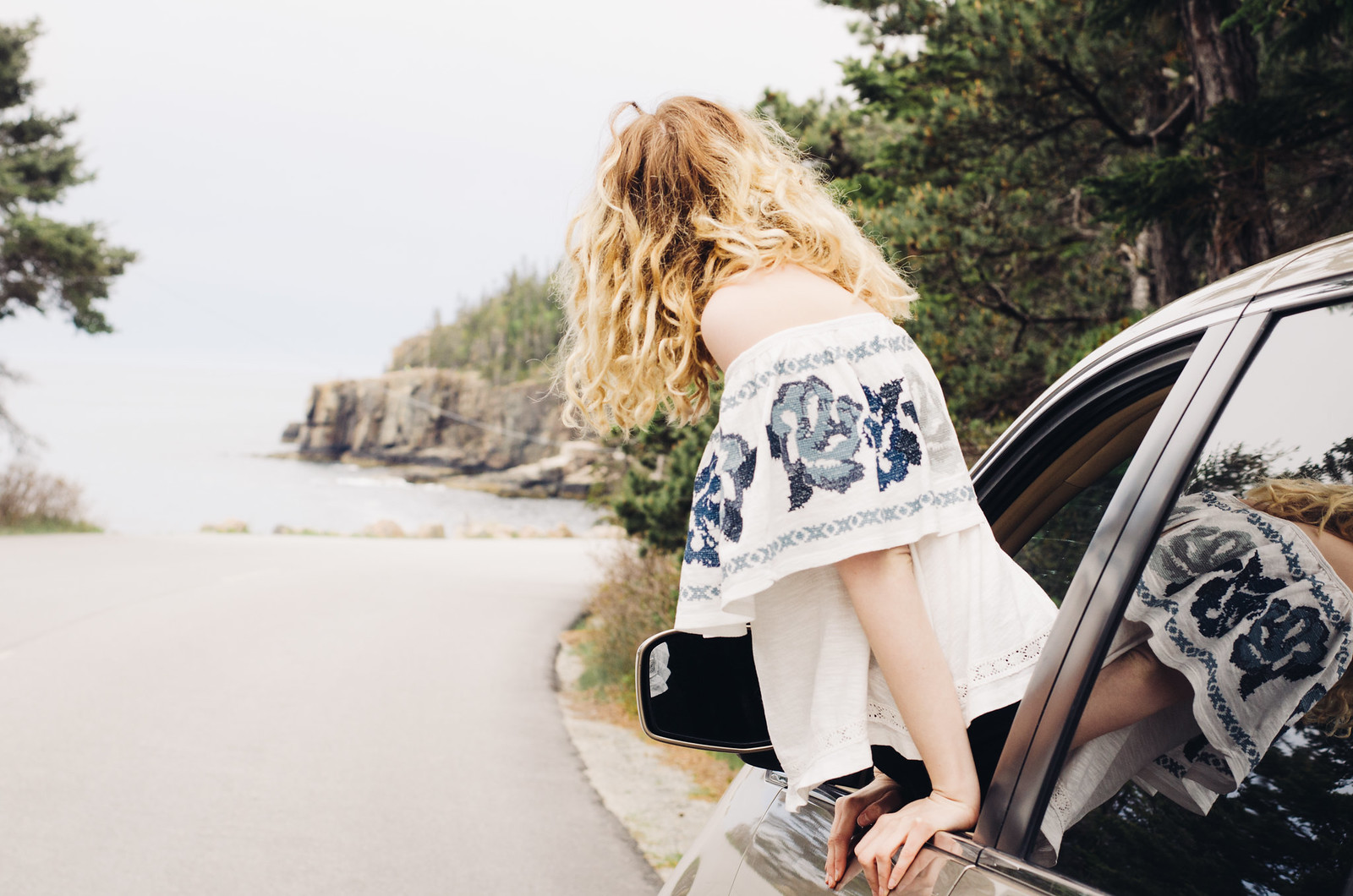 Road Trip! In Maine in Free People on juliettelaura.blogspot.com