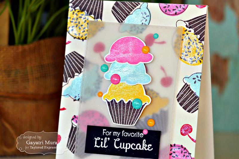 Lil's Cupcake closeup by Gayatri Murali