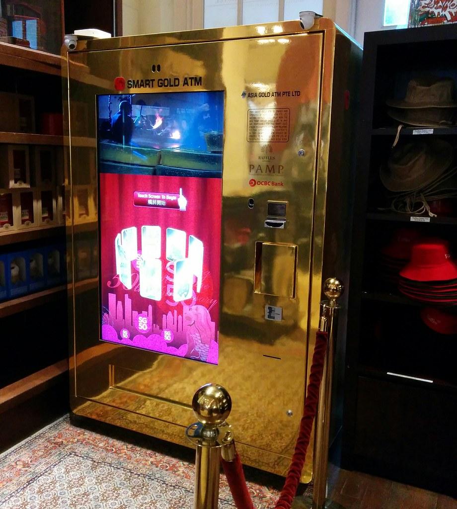 Gold ATM, Raffles, Singapore