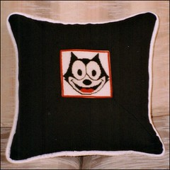 Felix the Cat pillow