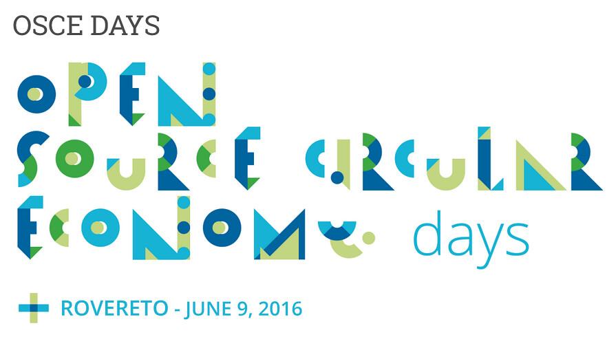 OSCE: Open source circular economy days