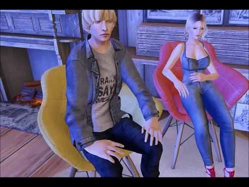 A CHAIR Couple anim preview