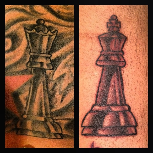 Image result for best king and queen tattoos