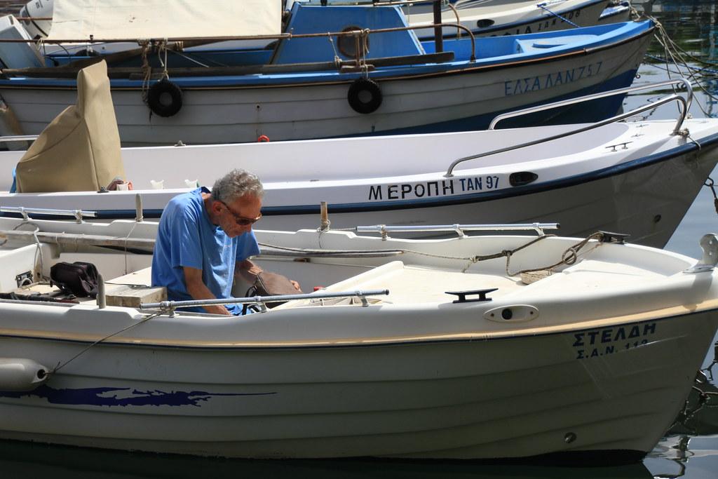 Agios Nikolaos Fisherman
