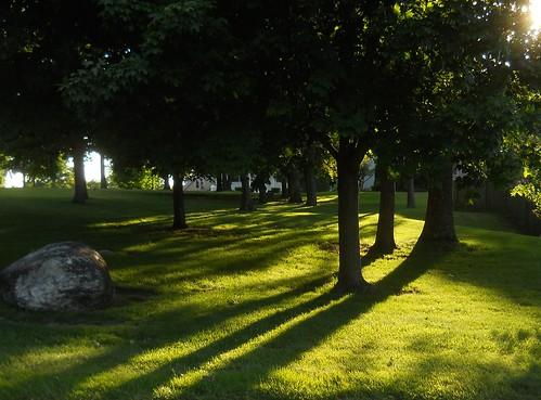 long light of evening